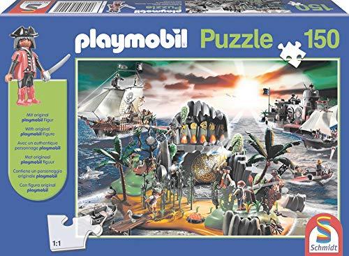 Schmidt Spiele Playmobil: Pirateninsel Puzzle - Rompecabezas