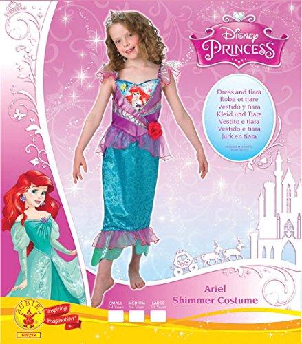 Imagen de rubie 's oficial shimmer–ariel, los niños disfraz–tamaño mediano alternativa