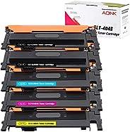 AQINK 5-Pack Compatible 404S CLT K404S P404C CLT-K404S CLT-C404S CLT-M404S CLT-Y404S Toner Cartridge for Samsu