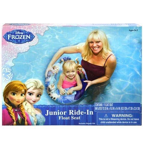 Disney Frozen Pool Float Seat - Baby Toddler Ride-in Swim Ring (Frozen-pool Disney)