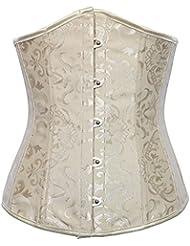 Cuerpo de Europa Royal corsé chaleco vestido para hacer corsés para la cintura de las señoras característica conformación ropa interior , apricot , xxl
