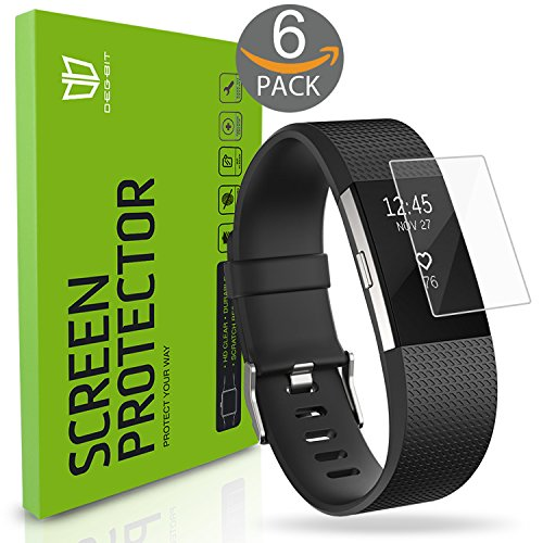 fitbit-charge-2-screen-protector-6-pack-degbitr-no-peeling-off-full-coverage-hd-clarity-anti-scratch