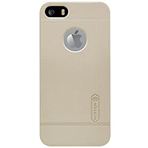 Nillkin Super Frosted Protective Cover Case For Iphone 5 / 5s - Golden