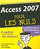 ACCESS 2007 POUR LES NULS