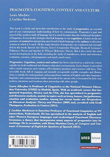 Pragmatics: Cognition, Context And Culture libros de leer gratis