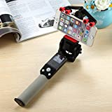 Zehui Selfie Stick 360 Degree Rotation With Bluetooth Remote Control For IOS 4.0 Android 2.3+ Black