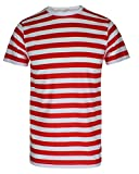 Search : MEN'S BOYS RED & WHITE STRIPED STRIPE T-SHIRT BLUE BLACK STRIPE TOP & TEES