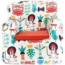 Sillon bebe sillita para recién nacidos desenfundable lavable resistente cómodo decoracion muebles niños Fabricado en España Varios Dibujos Estampados Tamaño único Edad 0 a 4 años