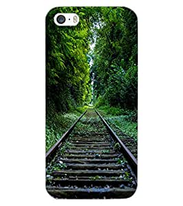 APPLE IPHONE 5S TRACK Back Cover by PRINTSWAG