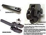 Präzisions-Kombi-Set mit 3 Rändelwerkzeugen für Drehmaschine, Metallbearbeitung, Maschinen, Modellbau