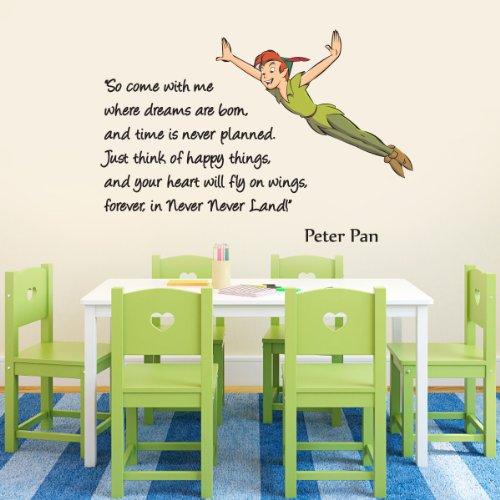 wandtattoo-vinyl-wanddeko-mit-peter-pan-motiv-und-englischsprachigem-schriftzug-in-farbe-fr-kinderzi
