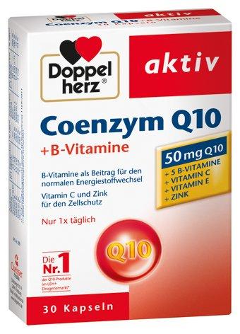 Doppelherz Coenzym Q10 + Vitamin B, 3er Pack, 3 x 30 Kapseln