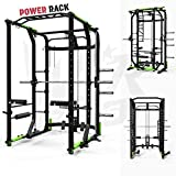We R Sports Power Rack Gym Crossfit Rack Smith Machine - Lat Pull Down -Pull Ups...