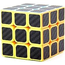 Cube 3x3 cubo di velocità Stickerless magico di Rubik Cube Cubo gira più rapido e più precisamente