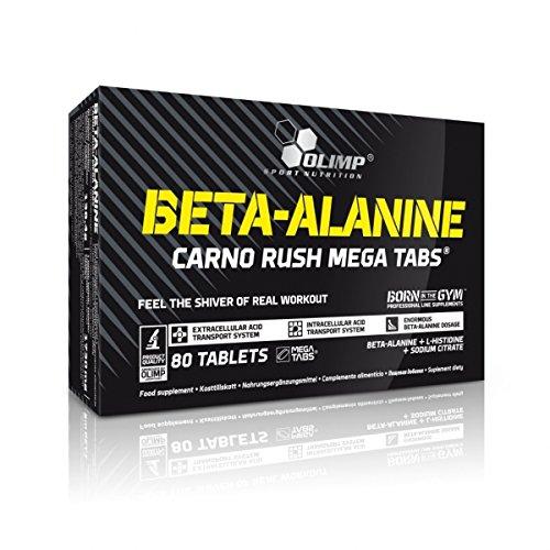 Olimp Sport Nutrition Beta-Alanine Carno Rush Aminoácidos - 80 Tabletas