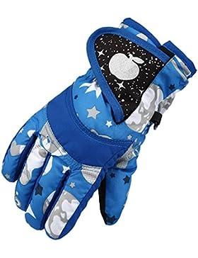 Eastlion Kinder Skifahren Handschuhe Verdickung Winter Baumwolle Kalt Sport Wasserdichte Winddichte Schnee Fäustlinge...