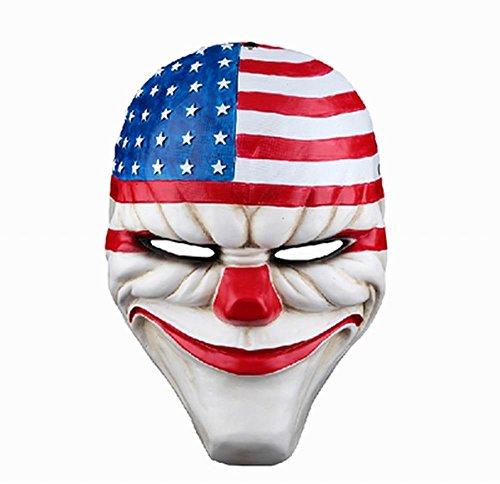 Online Payday 2Dallas máscara Heist Joker Disfraz Props Collection Cosplay Máscara se vende por bestlife