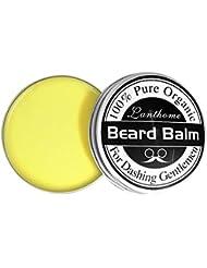 Weisy Baume pour Barbe Cire Creme pour Soins des Barbes Adoucit la Moustache et Hydrate la Peau Seche Homme 25 g