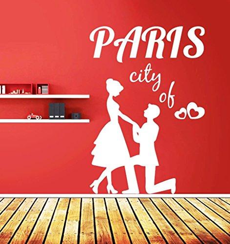Zigzacs Wall Sticker Ville de Paris Chambre d'enfants PVC Decal Art Chambre Vinyle Décor