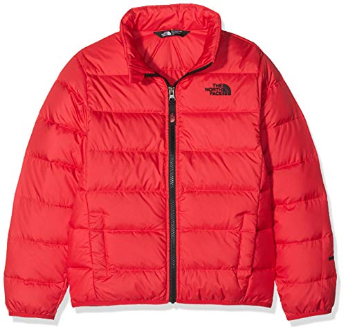 THE NORTH FACE Jungen Andes Jacke, Red/TNF Black, XL - Down North Jacket Face Boys