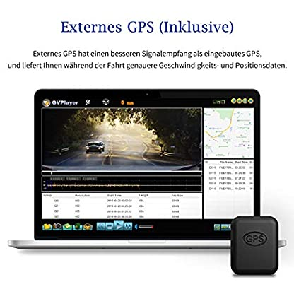 Dash-Cam-DuDuBell-10-IPS-Touchscreen-Dashcam-Dual-Dashcam-1080P-1080P-310–Weitwinkel-mit-Nachtsicht-bei-Sternenlicht-HDR-Plus-GPS-inklusive-IP68-wasserdichte-Rckfahrkamera