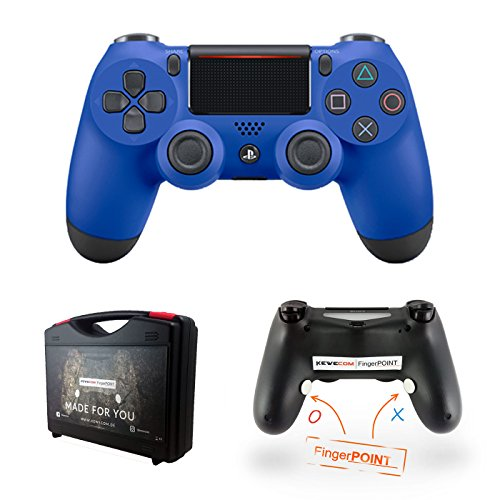 Kewecom Playstation 4 Dualshock FingerPOINT Ps4 Scuf Controller - V2 (2016) Matt Blau