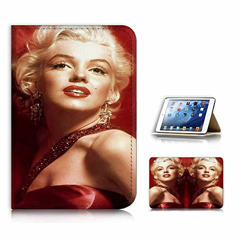 eneration 4) Flip Case Cover & Displayschutzfolie Bundle - a21329 Marilyn Monroe in Rot ()
