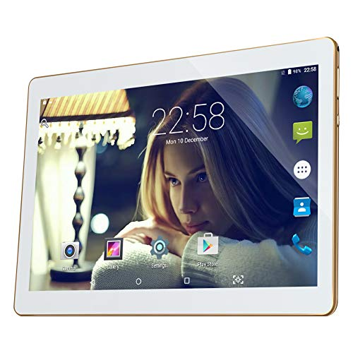 kivors Tablet (10pollici IPS) 2GB RAM 32GB ROM 3G phablet Android 4.42Wi-Fi OTG con offerte speciali oro gold