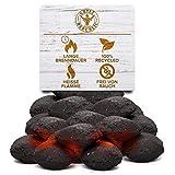 Grill Republic Kokos Briketts Grillbriketts Kokoskohlen für Den Kugel- und Standgrill   Nachhaltig, Hoher Heizwert und 3X Längere Brenndauer   8,5kg … Test