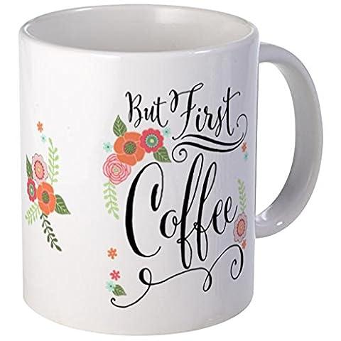 quadngaagd mais Première Café 11-Ounce Mug Tasse à Café Tasse à thé Blanc