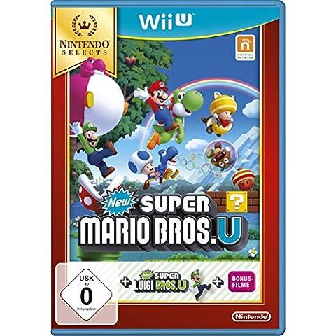 New Super Mario Bros. U + New Super Luigi U - Nintendo Selects [Importación Alemana]