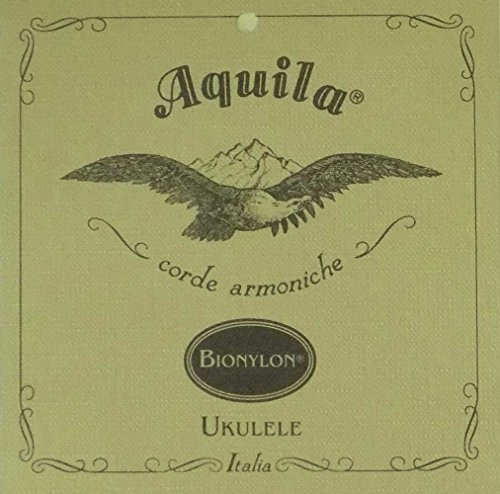 Aquila AQ U BN 60U BioNylon Ukulele Set (GCEA Concert, low-G, wound)