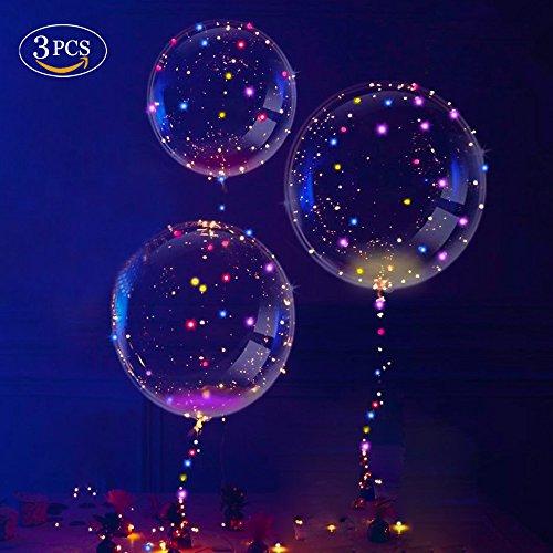 , Transparent Party Ballons, Einzigartig Party Ballons, Perfekt für Verschiedene Festivals, Party, Jahrestag Feierlichkeiten, Hochzeit, Urlaub Dekoration (Einzigartige Ballons)