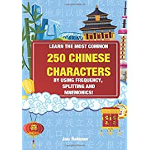 Learn the most common 250 Chinese characters: By using frequency, splitting and mnemonics