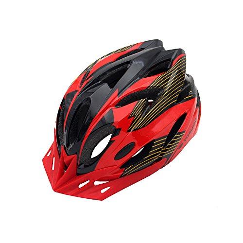 Poids ultra léger -Premium Quality Airflow Casque de vélo spécialisé pour le vélo de route et de montagne - Casques de vélo certifiés de sécurité pour hommes et femmes adultes, adolescents garçons et filles - Confortable, léger, respirant