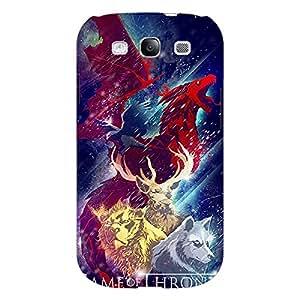Jugaaduu Game Of Thrones GOT House Targaryen Back Cover Case For Samsung Galaxy Grand Duos I9082