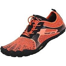 timeless design f684d 74ba2 SAGUARO Scarpe Barefoot Uomo Donna,Scarpe da Trail Running Scarpe da Corsa  su Strada,