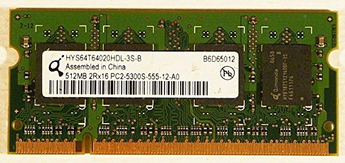 Hynix 512MB DDR2 PC2-5300U-555-12 Notebook ID7321