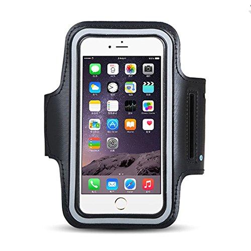 FAS1 Sweatproof da Sport-Supporto da braccio per iPhone 6 Plus/6s, Samsung S3, S4, ed esercizi di allenamento con fascia da braccio, regolabile, adatta per ciclismo, Hiking, Canoeing, camminata, l