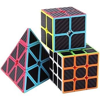 Ensemble de Six Awesome Magic Cubes incl. Pyraminx, 2x2