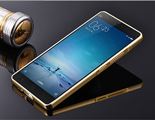 various colors b8668 b842a SDO™ Acrylic Mirror Back Cover Case with Bumper Frame Case for Xiaomi Redmi  3S Prime / Redmi 3S Pro with Fingerprint Cutout (Gold)