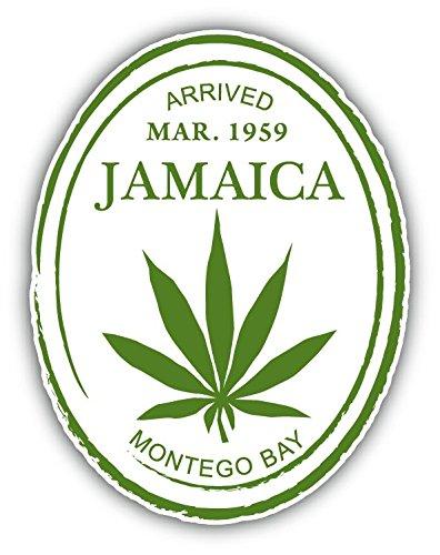 Jamaica Bay (Jamaica Montego Bay Grunge Travel Stamp Hochwertigen Auto-Autoaufkleber 8 x 12 cm)