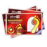 Thermopad Zehen-Wärmer | Angenehme Wärme für die Zehen | 37°C | ultra dünne Heiz-Pads | sofort einsetzbar | 8 Stunden intensive Wärme  | 5 Paare