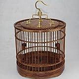 Pet Online En forma de jaula de madera maciza de...