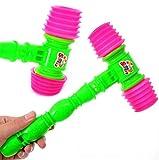 fengge doble Bang mango martillo bruyant silbato juguete (aleatorio color)
