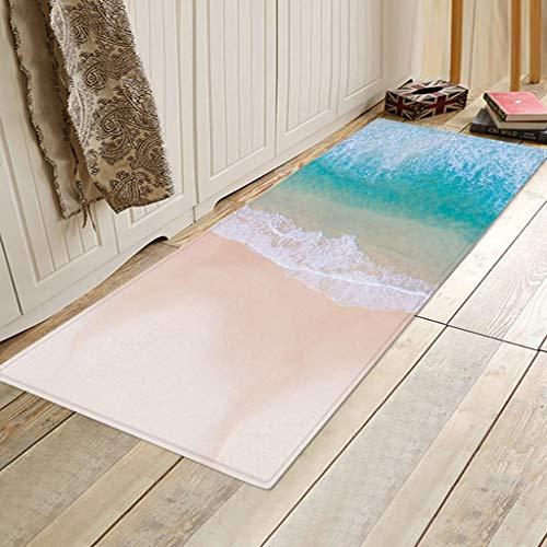 Carpet_Chsheeppich Küche Teppich Anti-Slip Mute Teppich Schlafzimmer Teppich , Teppiche Anti-Skid Yoga Teppich Für Wohnzimmer Schlafzimmer Teppiche 40X120Cm (E) -