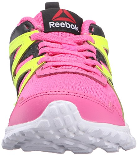 Reebok Run Supreme 2.0 Synthétique Chaussure de Course pink-blck-yellow-wht