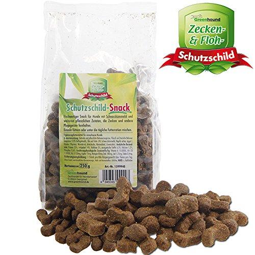 Schutzschild-Snack - gegen Zecken und andere Plagegeister mit Schwarzkümmelöl und weiteren pflanzlichen Zutaten für Hunde Ungezieferbekämfung -