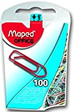 MAPED 36959 Boîte de 100 Trombones 25 mm