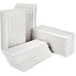 Asciugamani ripiegati a C o a V – 2 veli – 15 cf. da 200 pz. Totale 3000 pz – ecolabel – idoneo al contatto con alimenti